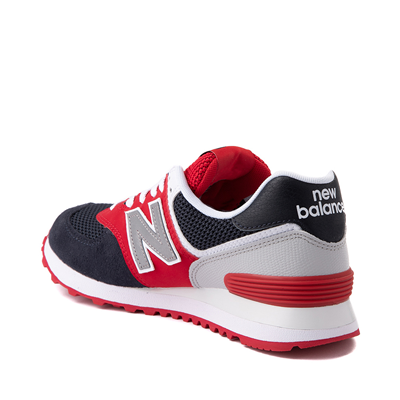 Alternate view of Womens New Balance 574 Athletic Shoe - Navy / Red / White