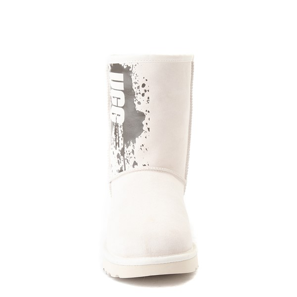 alternate view Womens UGG® Classic Short II Splatter Boot - JasmineALT4