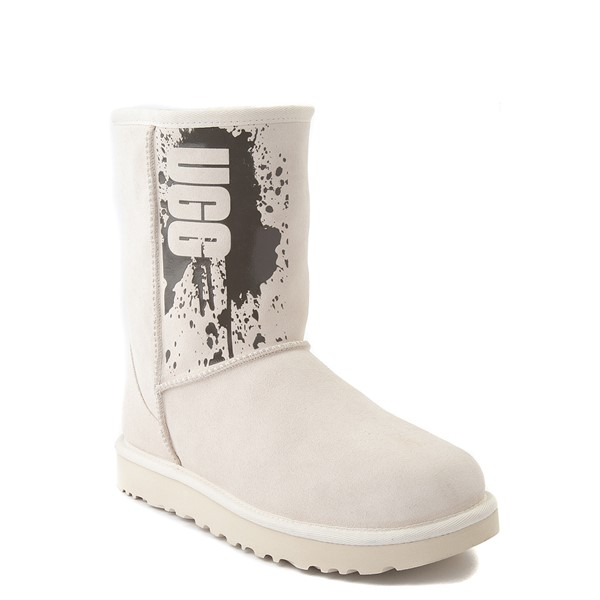 alternate view Womens UGG® Classic Short II Splatter Boot - JasmineALT5