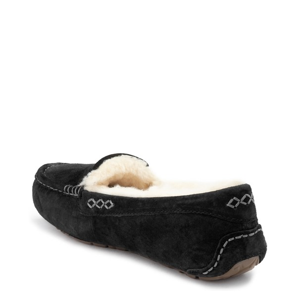 alternate view Womens UGG® Ansley Slipper - BlackALT1