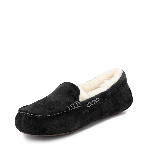 alternate view Womens UGG® Ansley Slipper - BlackALT2
