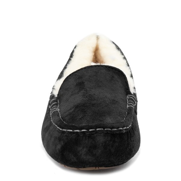 alternate view Womens UGG® Ansley Slipper - BlackALT4