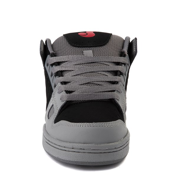 alternate view Mens DVS Celsius Skate Shoe - Charcoal / Black / RedALT4