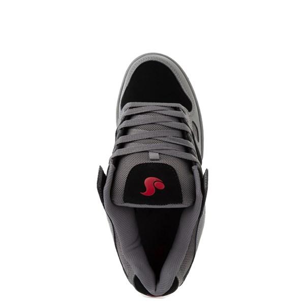alternate view Mens DVS Celsius Skate Shoe - Charcoal / Black / RedALT4B