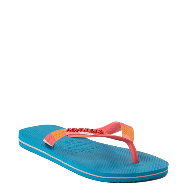 alternate view Womens Havaianas Top Verano Sandal - TurquoiseALT2