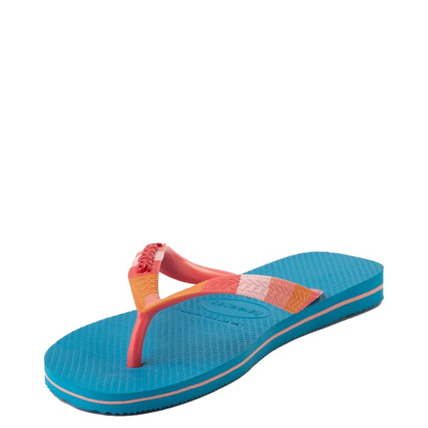 alternate view Womens Havaianas Top Verano Sandal - TurquoiseALT4