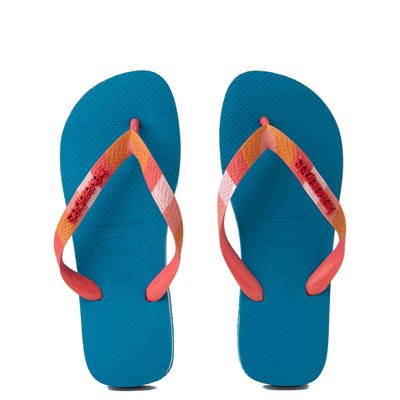 Main view of Womens Havaianas Top Verano Sandal - Turquoise