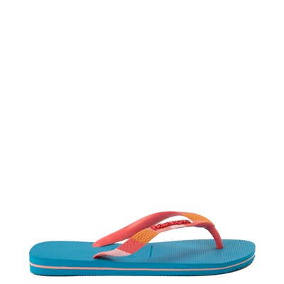 Alternate view of Womens Havaianas Top Verano Sandal - Turquoise