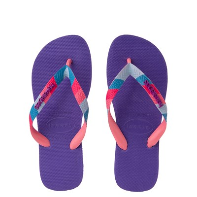 Main view of Womens Havaianas Top Verano Sandal - Purple