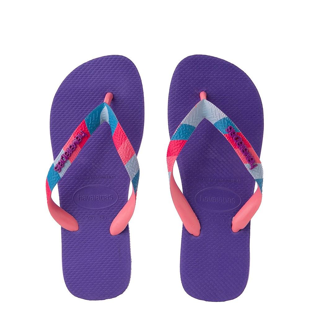 Womens Havaianas Top Verano Sandal - Purple