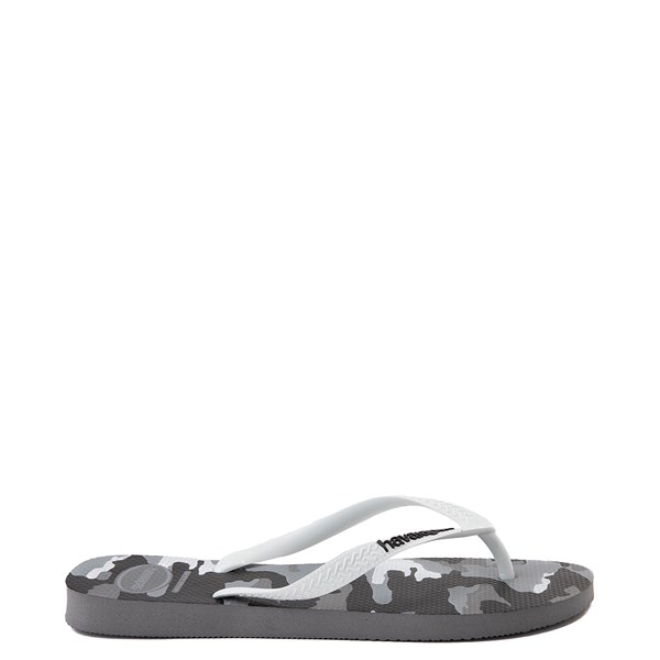 alternate view Mens Havaianas Top Sandal - Gray CamoALT1
