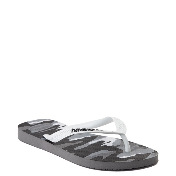 alternate view Mens Havaianas Top Sandal - Gray CamoALT2
