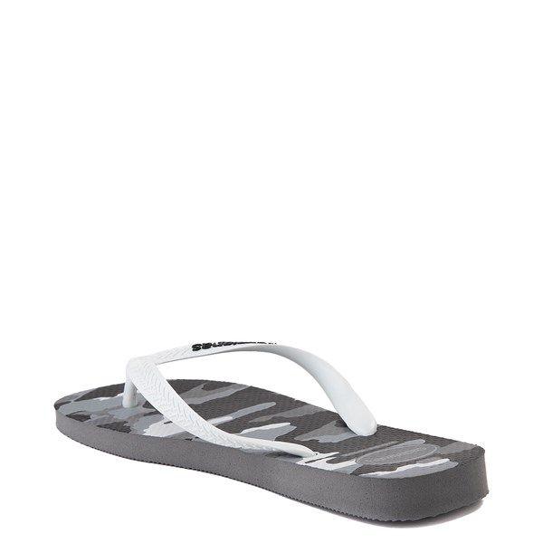 alternate view Mens Havaianas Top Sandal - Gray CamoALT3