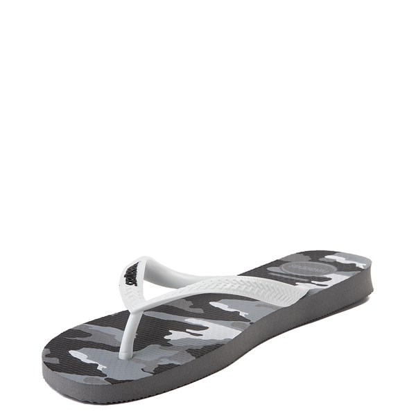 alternate view Mens Havaianas Top Sandal - Gray CamoALT4