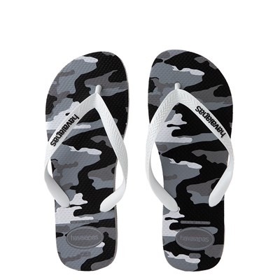 Main view of Mens Havaianas Top Sandal - Gray Camo