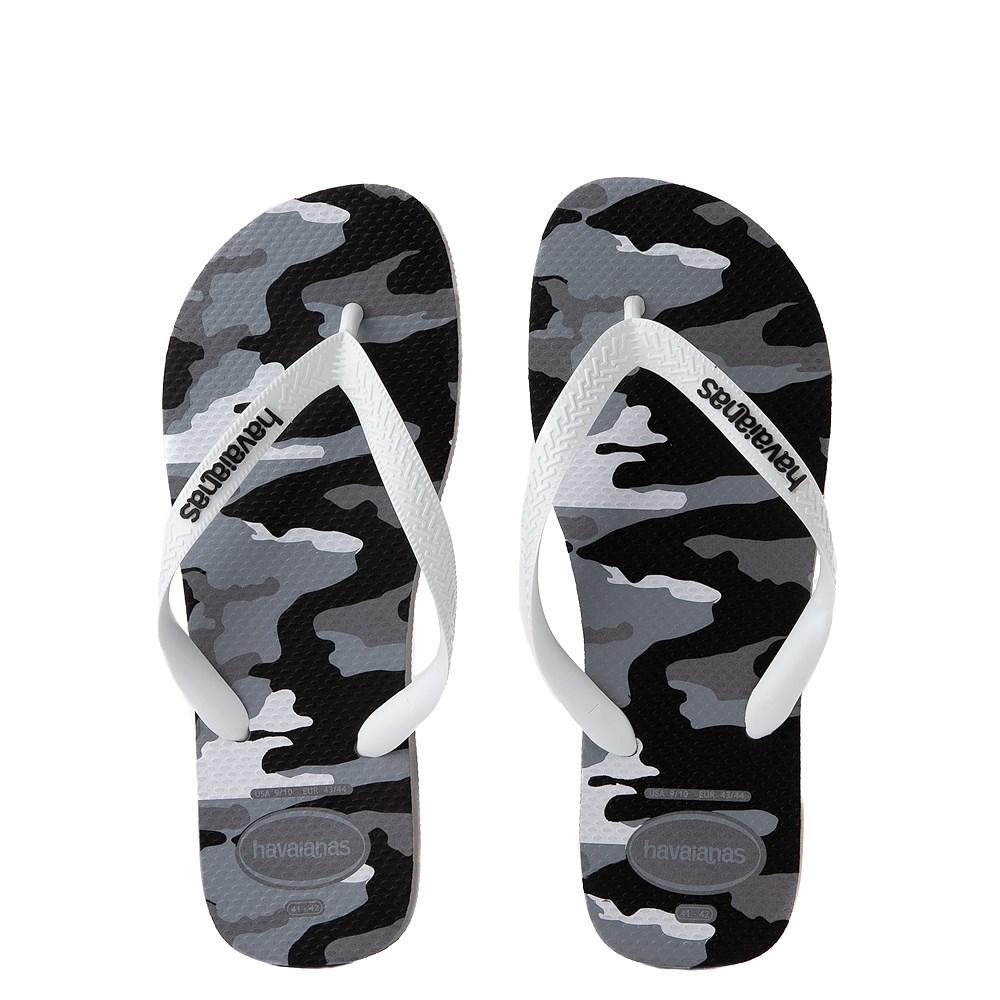 Mens Havaianas Top Sandal - Gray Camo