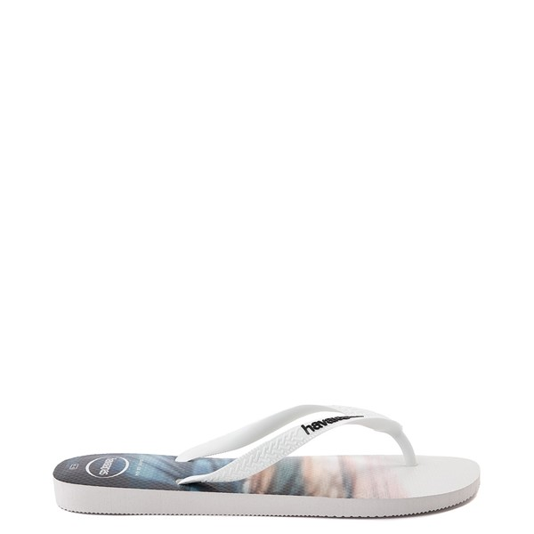 alternate view Mens Havaianas Hype Sandal - White / MultiALT1