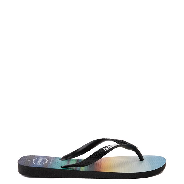 alternate view Mens Havaianas Hype Sandal - Black / MultiALT1