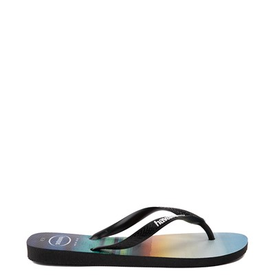 Alternate view of Mens Havaianas Hype Sandal - Black / Multi