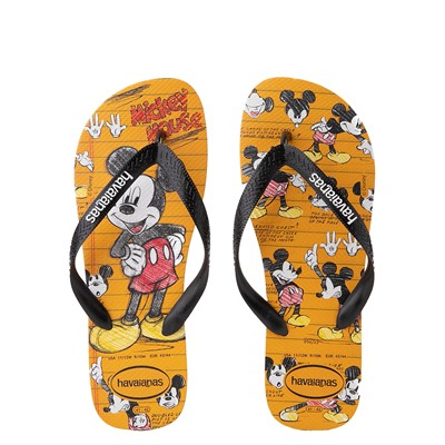 Main view of Havaianas Disney Stylish Mickey Mouse Sandal - Orange / Black