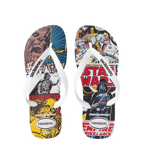 Main view of Havaianas Star Wars The Empire Strikes Back Sandal - White / Multi