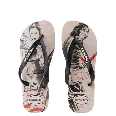 Main view of Havaianas Star Wars The Last Jedi Sandal - Beige