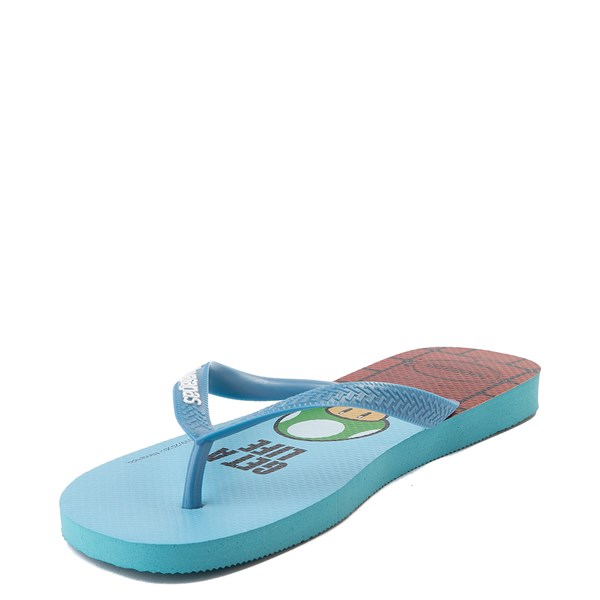 alternate view Havaianas Super Mario Sandal - BlueALT4