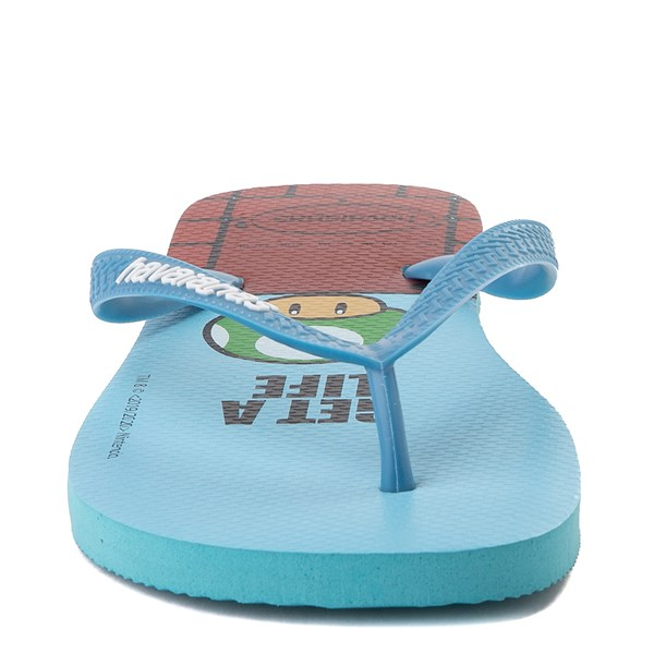 alternate view Havaianas Super Mario Sandal - BlueALT5