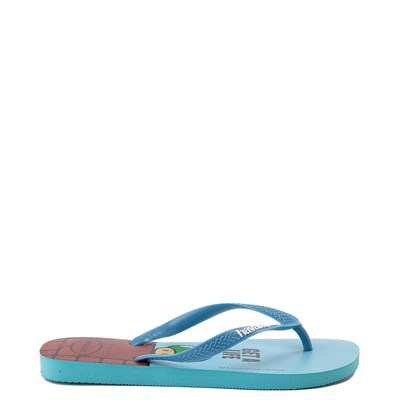 Alternate view of Havaianas Super Mario Sandal - Blue