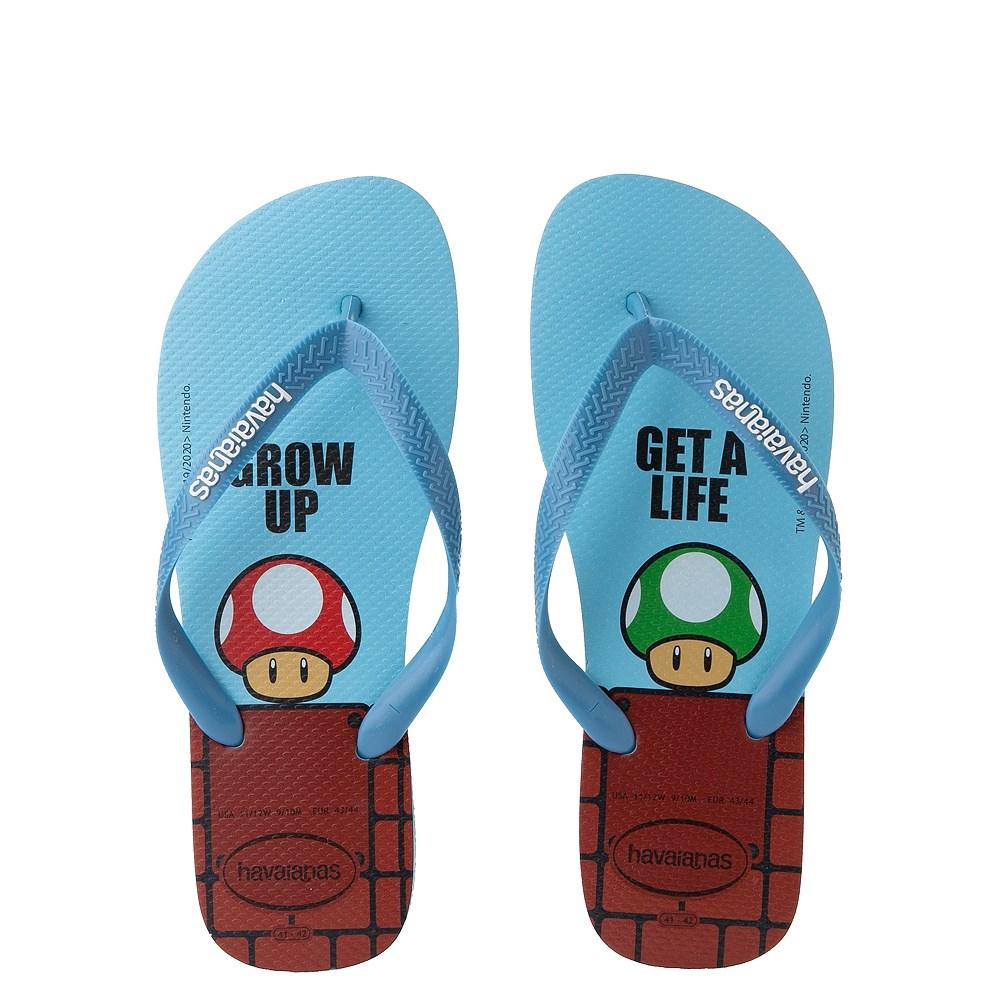 Havaianas Super Mario Sandal - Blue