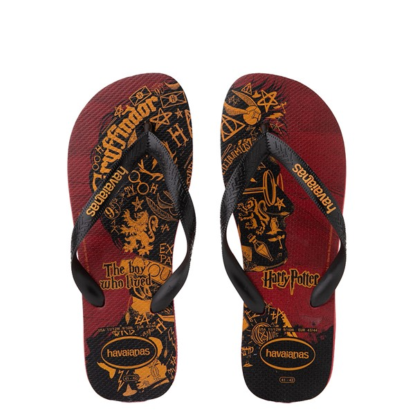 Main view of Havaianas Harry Potter Top Sandal - Scarlet / Black