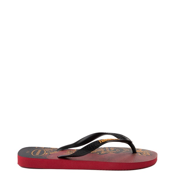 alternate view Havaianas Harry Potter Top Sandal - Scarlet / BlackALT1
