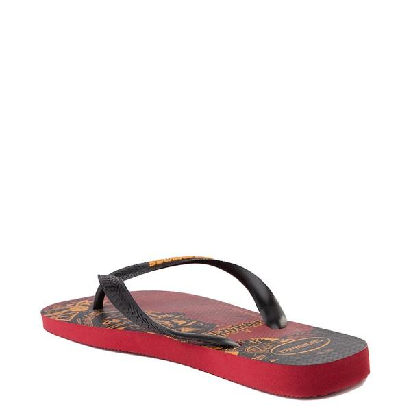 alternate view Havaianas Harry Potter Top Sandal - Scarlet / BlackALT1B