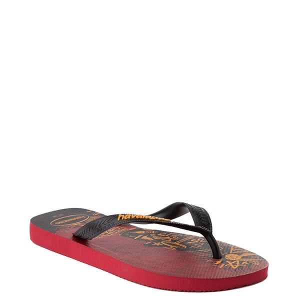 alternate view Havaianas Harry Potter Top Sandal - Scarlet / BlackALT5