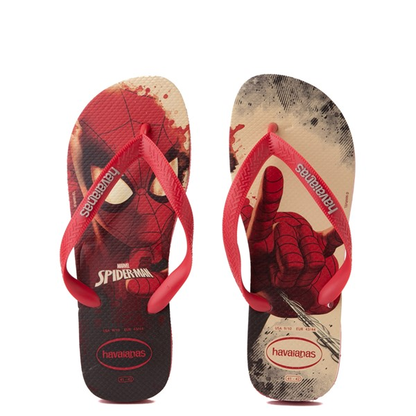 Main view of Havaianas Marvel Spider-Man Top Sandal - Red