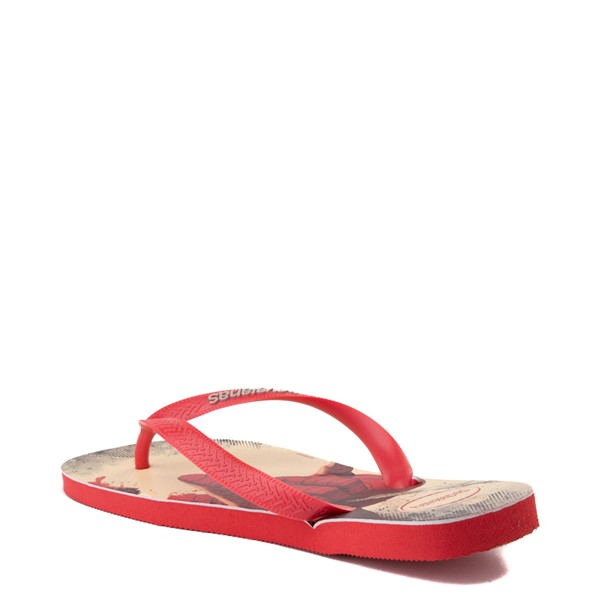 alternate view Havaianas Marvel Spider-Man Top Sandal - RedALT1B
