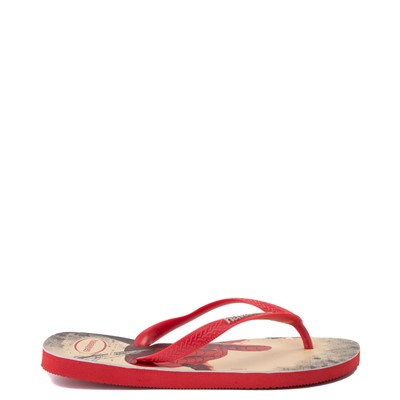 Alternate view of Havaianas Marvel Spider-Man Top Sandal - Red