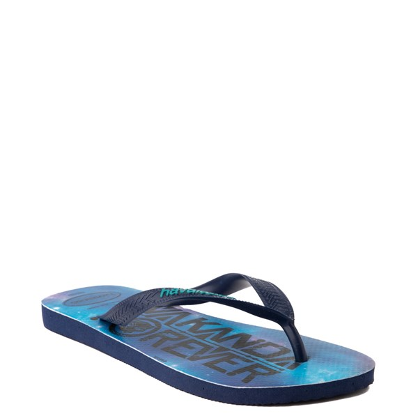 alternate view Havaianas Marvel Black Panther Top Sandal - NavyALT2