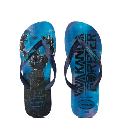 Main view of Havaianas Marvel Black Panther Top Sandal - Navy