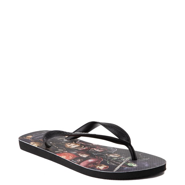 alternate view Havaianas Marvel Avengers Top Sandal - BlackALT5