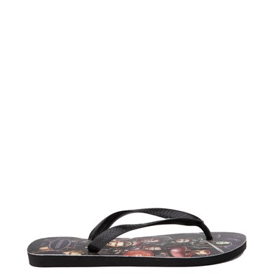 Alternate view of Havaianas Marvel Avengers Top Sandal - Black