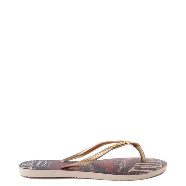 alternate view Womens Havaianas Wonder Woman Slim Sandal - MultiALT1