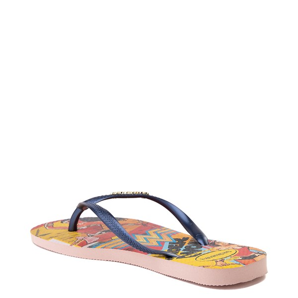 alternate view Womens Havaianas Wonder Woman Slim Sandal - MultiALT2