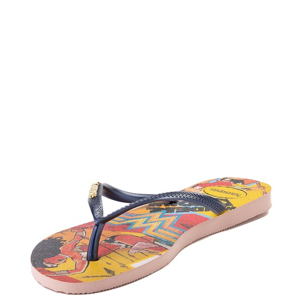 alternate view Womens Havaianas Wonder Woman Slim Sandal - MultiALT3