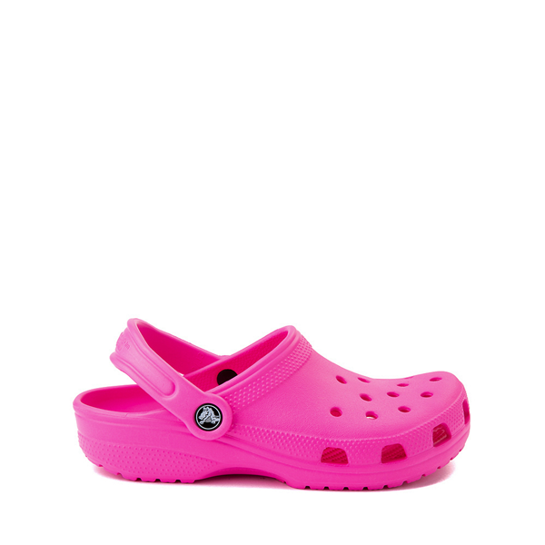 Main view of Crocs Classic Clog - Little Kid / Big Kid - Electric Pink
