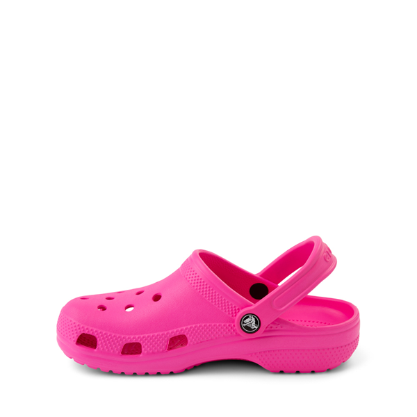 alternate view Crocs Classic Clog - Little Kid / Big Kid - Electric PinkALT1