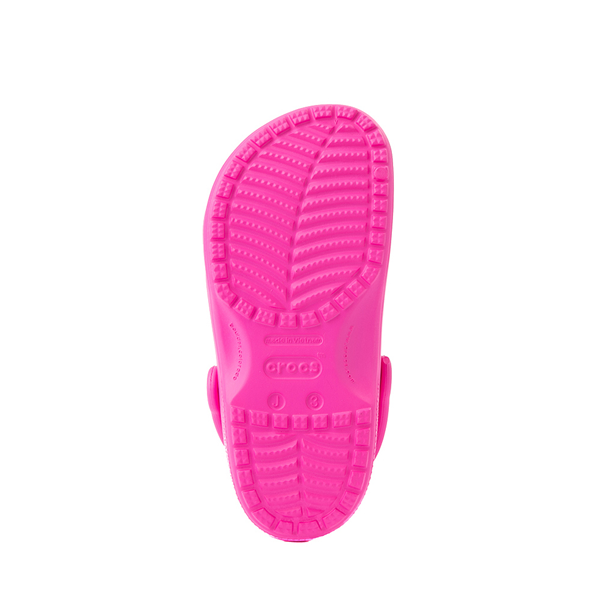 alternate view Crocs Classic Clog - Little Kid / Big Kid - Electric PinkALT3