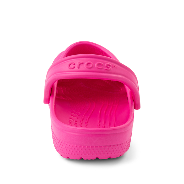 alternate view Crocs Classic Clog - Little Kid / Big Kid - Electric PinkALT4