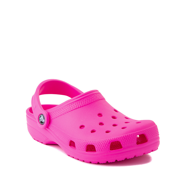 alternate view Crocs Classic Clog - Little Kid / Big Kid - Electric PinkALT5