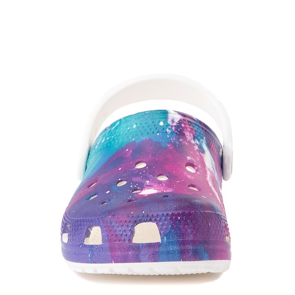 alternate view Crocs Classic Clog - Little Kid / Big Kid - Galaxy / WhiteALT4